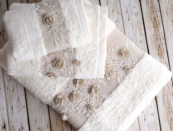 Luksusowy ręcznik Heaven  70x140 cm