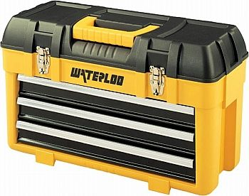 This 3 drawer portable Waterloo tool box is only $30! Don't miss out on this great deal!!
