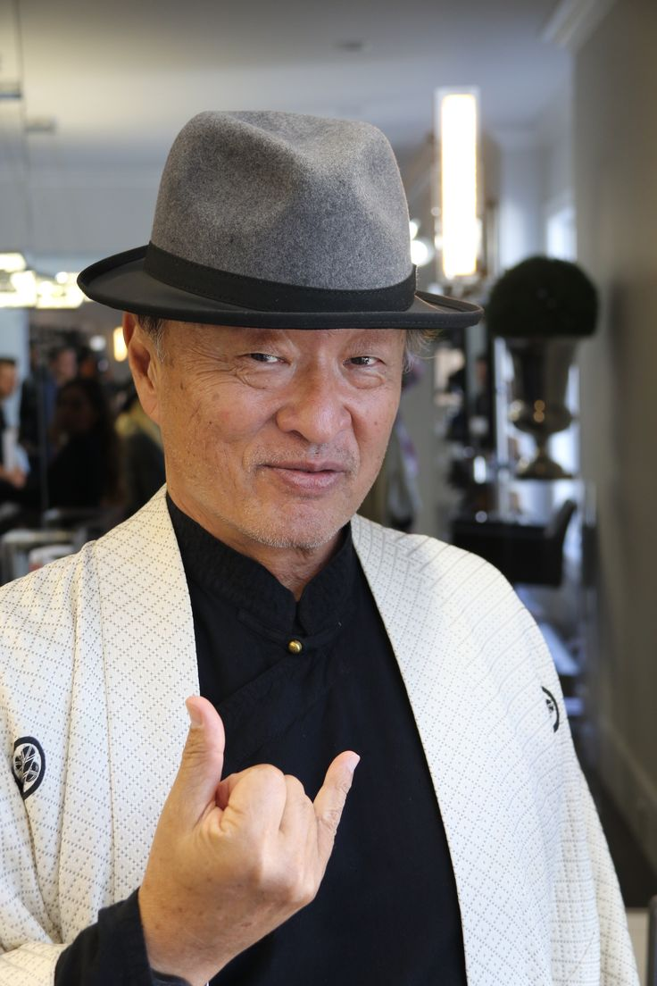 Cary-Hiroyuki Tagawa in fashionable ashbury hats
