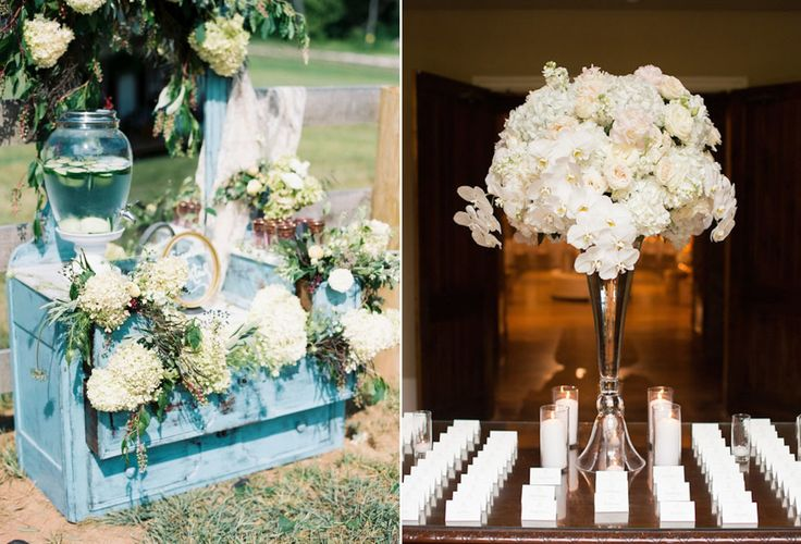 Hydrangea, a good choice for your semi-formal wedding decor | The Prettiest Flowers for a Spring Wedding | http://www.bridestory.com/blog/the-prettiest-flowers-for-a-spring-wedding