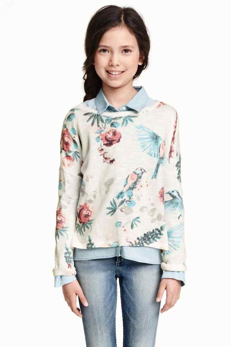 Pulover tricotat fin | H&M