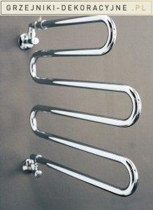 ALATHERM to gięta suszarka do ręczników, którą można podłączyć zarówno do instalacji grzewczej, jak i do instalacji wodno-sanitarnej.