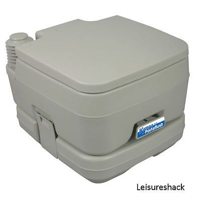 Portable #toilet, ideal for camping, caravanning or boating #kampa #portaflush 10,  View more on the LINK: 	http://www.zeppy.io/product/gb/2/301862668249/