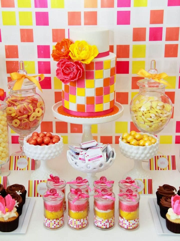 Little Big Company   The Blog: A Summer Themed 40th Birthday by A Pocket Full of Sweetness
