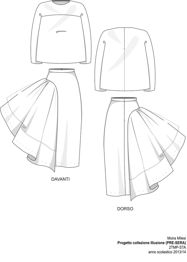 weirdly interesting Technical Sheet 5. Evening Fashion Show STA 2014