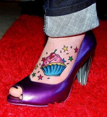 Cupcake tattoo I want