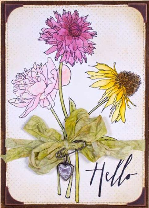 Best Tim Holtz Flower Garden Images On Pinterest Jpg 483x673