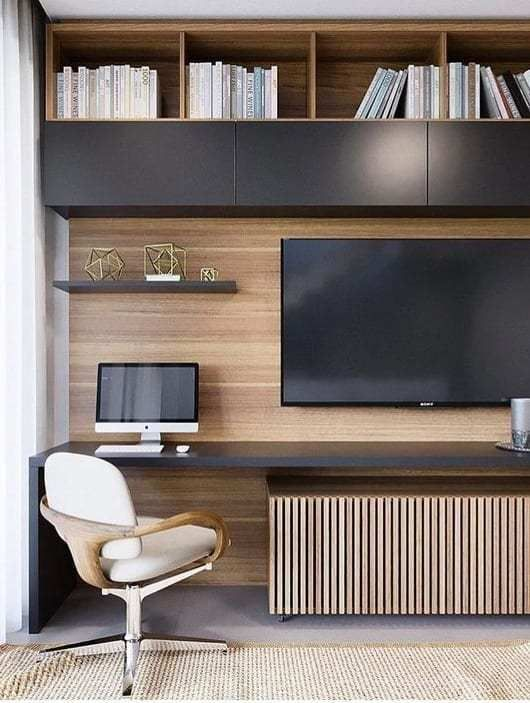 Home Office Setup, Home Office Organization, Home Office Space, Office Ideas, Small Bedroom Office, Ceo Office, Lawyer Office, Smart Office, Stylish Office