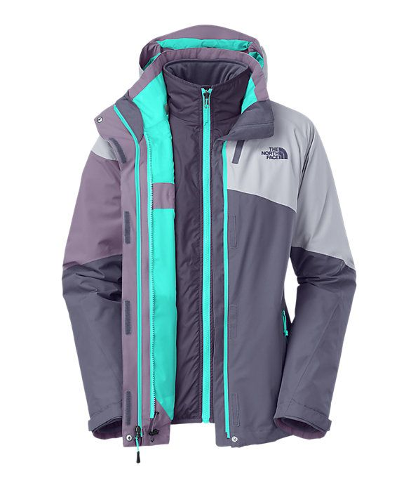 The North Face Women's Jackets & Vests INSULATED SYNTHETIC WOMEN'S CINNABAR TRICLIMATE® JACKET - SAVE NOW