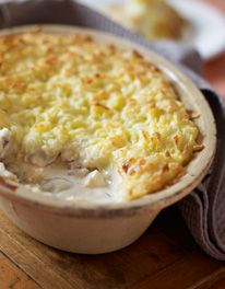 Exceedingly good double fish pie via Mary Berry