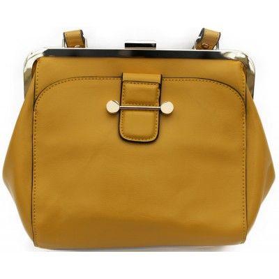 Yellow Clip Cross Bag
