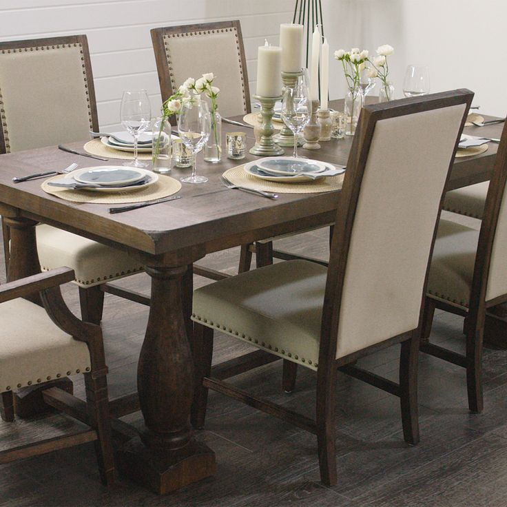 Rectangular black greyson extension table world world for Greyson dining table