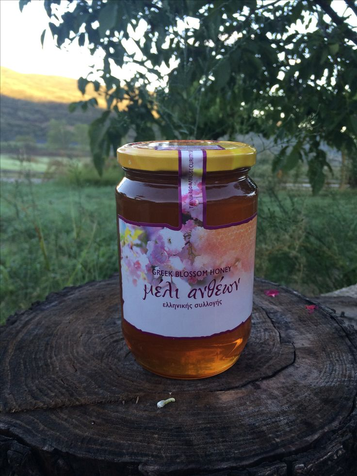 BeeGreek.gr Greek Fresh Delicious Golden Honey