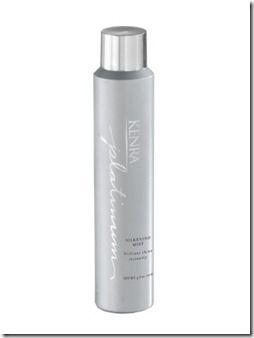 Kenra Platinum Silkening Mist Kenra Platinum Silkening Mist is the ultimate shine spray to evenly polish, repair and protect the hair – all in one ultra-light aerosol spray! The weightless formula combines four functions in one – it eliminates frizz, repairs split ends, provides thermal protection and evenly distributes brilliant shine!
