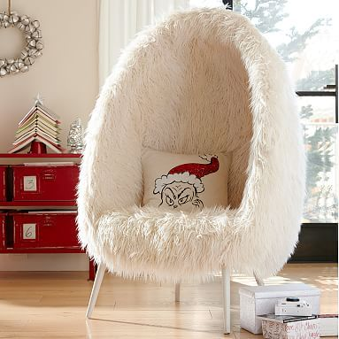 Furlicious Egg Chair #pbteen