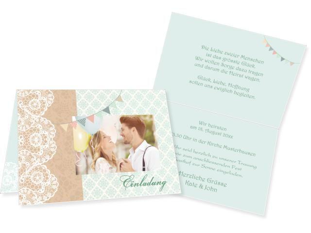 Vintage Love Klappkarte oben 4-seitig 170x120mm grün, Romantic Klappkarte links 4-seitig 210x100mm beige / chamois, Hochzeitskarten online gestalten, Einladungskarten, Hochzeitseinladungen, kreative Karten, selbst erstellen, Weddingcard, Wedding, Invitation, karten4you, karten4you.ch, ausgefallen, rustikal, schlicht, hochzeit, kreativ, deutsch,