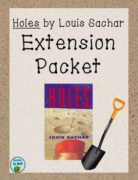 "a book report on the book holes by louis sachar essay ""the holes"" by louis sachar essay sample you never quite understand yourself until you're tested the book ""holes"" by louis sachar tells a story of stanley yelnats, who happened to be under a curse that began with his no-good-dirty-rotten-pig-stealing great-great-grandfather."