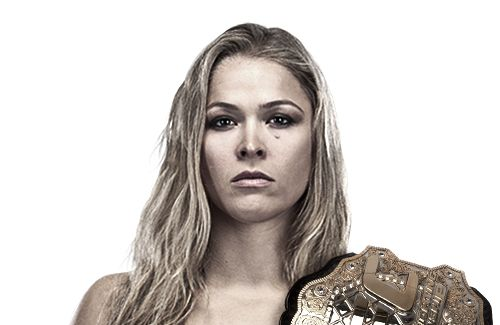Ronda Jean Rousey (born February 1, 1987) is an American mixed martial artist and judoka. She is the first and current UFC Women's Bantamweight Champion, as well as the last Strikeforce Women's Bantamweight Champion. She has defeated all of her opponents by armbar in the first round. Rousey became the first American woman to earn an Olympic medal in Judo at the Summer Olympics in Beijing in 2008.