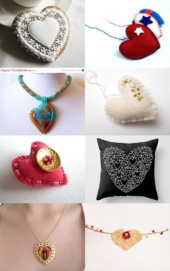 The Heart Knows Best by Danae - The Classy Jewelry Box on Etsy--Pinned with TreasuryPin.com