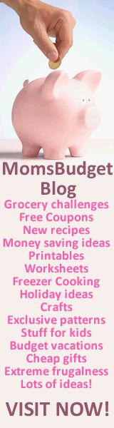 Moms Budget Blog- Free coupons, money saving ideas, freezer cooking.........
