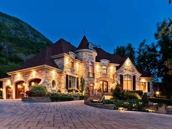 Dream home  miniature castle