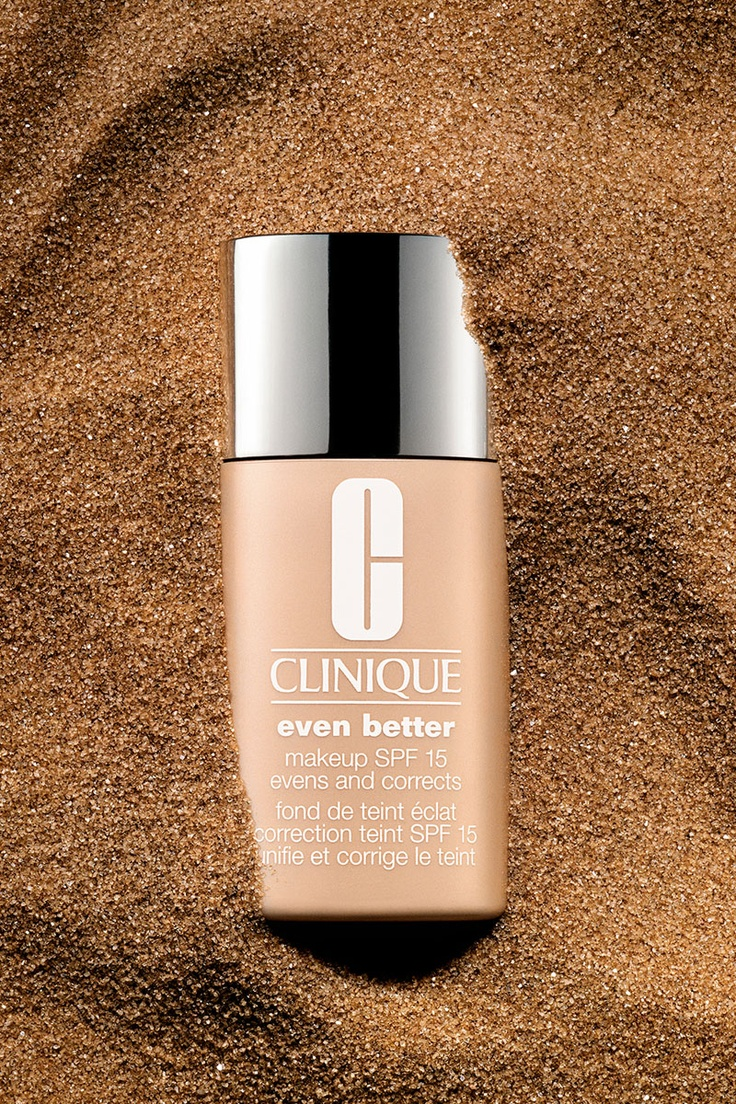 Clinique SPF Foundation. Photography by Greg Broom