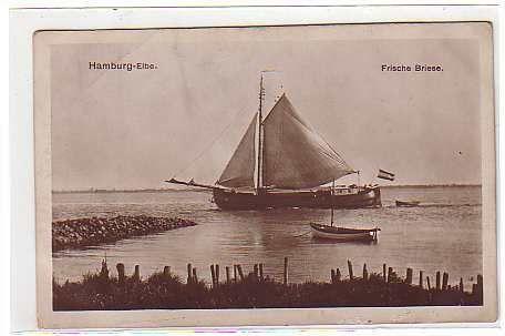 Hamburg - Elbe Frische Briese