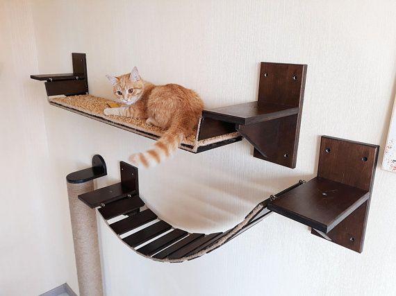 Cat Shelves Bridge Cat Bridge Cat Wall Furniture Cat Shelves Cat