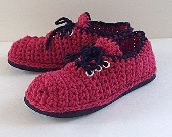 how to add soles to crochet sandals and slippers | Crochet Lace Up Street Shoes, crochet slippers with soles, crochet ...