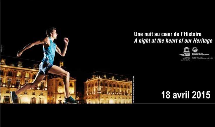 Marathon Bordeaux Métropole. Le samedi 18 avril 2015 à Bordeaux.