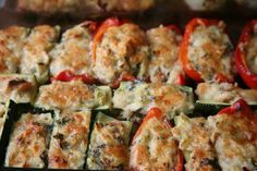 Just wanted to share this delicious recipe from Lidia Bastianich with you - Buon Gusto! Stuffed Vegetables