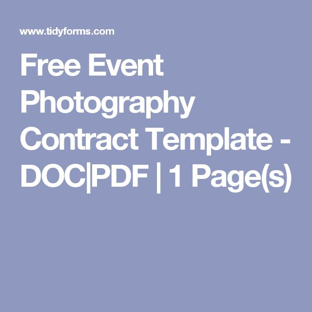 1000 ideas about Photography Contract – Rent to Own Document Free Download
