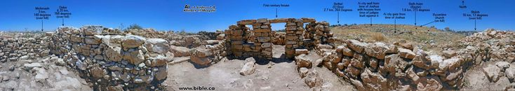Ai  of Joshua Khirbet el Maqatir Twice Abraham built an altar and God promised him Canaan. This is where Lot departed from Abraham.