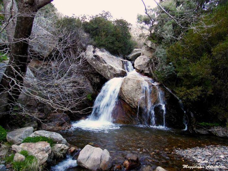 Καταρράκτες στην Ικαρία - Waterfalls in Ikaria