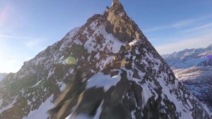VIDEO. Un vidéaste amateur filme des images spectaculaires des Alpes suisses avec un drone