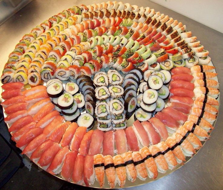 Japanese Costco Sushi Platter Food and Drink Pinterest