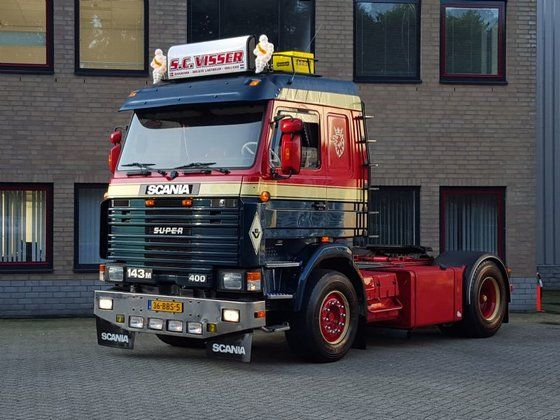 Used Scania 143 M Topline