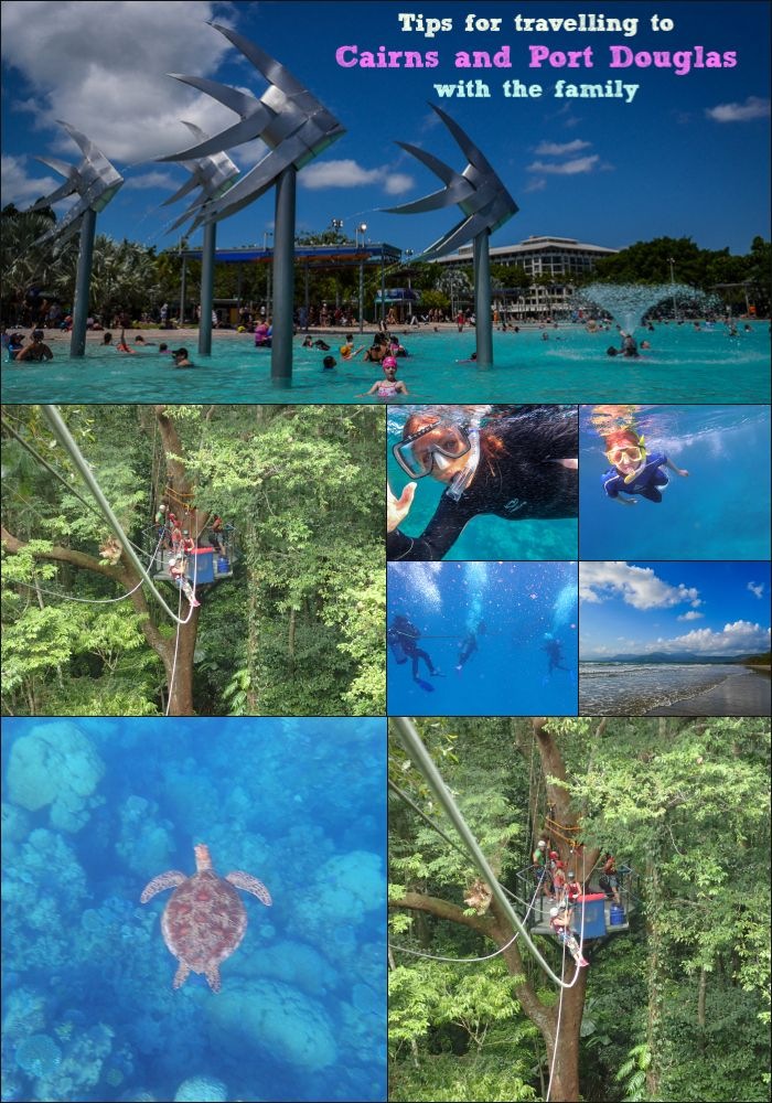 Tips for Visiting Cairns and Port Douglas with the Family - this blog post has all the info you need to get started with planning a visit to Far North Queensland with the family. There's so much for kids to do there, a fantastic place to visit.