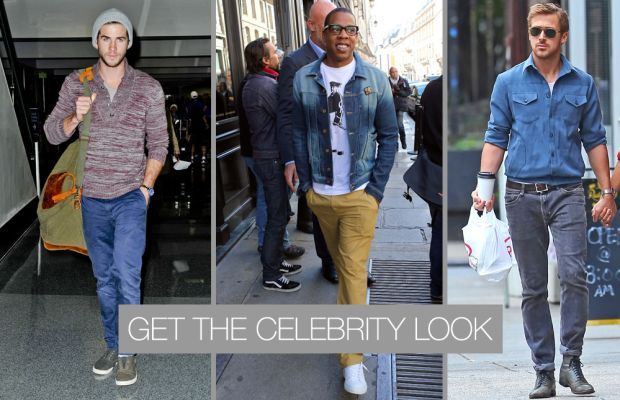 casual street style 2013 for men celebrity look