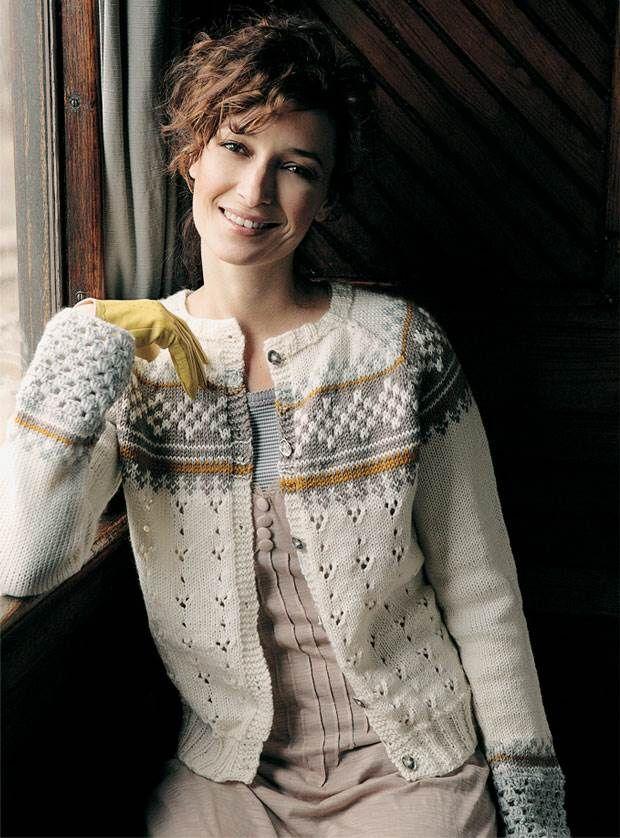Strik selv: Flot trøje med mønster og raglan fra Hendes Verden