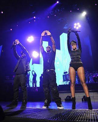 Rihanna Illuminati Hand Signs -Contact the coolest celebrities free at StarAddresses.com