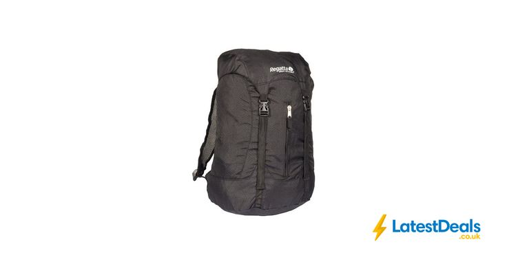 Lowest Price Regatta Easypack 25L Backpack - Black Free C&C, £5.20 at Argos