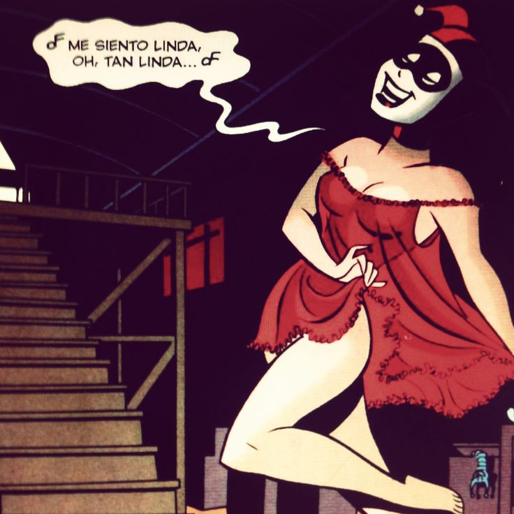 Harley quinn - mad love comic Batman Pinterest Love quotes, Mad ...