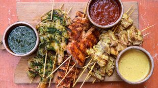 Red Chili Pork Brochettes David Tanis's Recipe Box | All - NYT Cooking