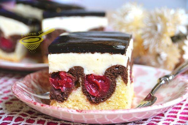 Jedno z tych bardzo prostych i dekoracyjnych ciast ze starego zeszytu. Możemy do niego użyć ulubionych lub aktualnie dostępnych owoców, jest...