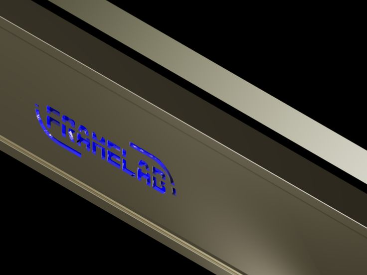 Decorative aluminium profile mirrors with custom inscriptions and hidden lights, unique products for hotels, bars, clubs and places with unique sense of elegance