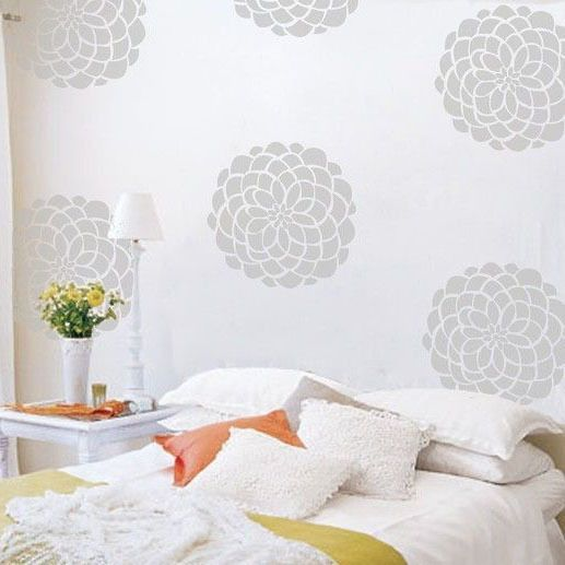 Beau Aliexpress.com : Buy Damask Wall Sticker Decorative Damask Wall Decal DIY  Modern Wall Decors