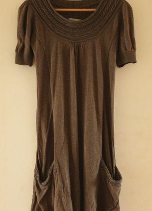 Kup mój przedmiot na #vintedpl http://www.vinted.pl/damska-odziez/krotkie-sukienki/8979450-jesienna-ladna-sweterkowa-sukienka-ca