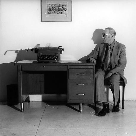 William Burroughs, taken by Robert Mapplethorpe 1979