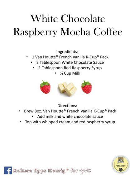 White Chocolate Raspberry Mocha Coffee
